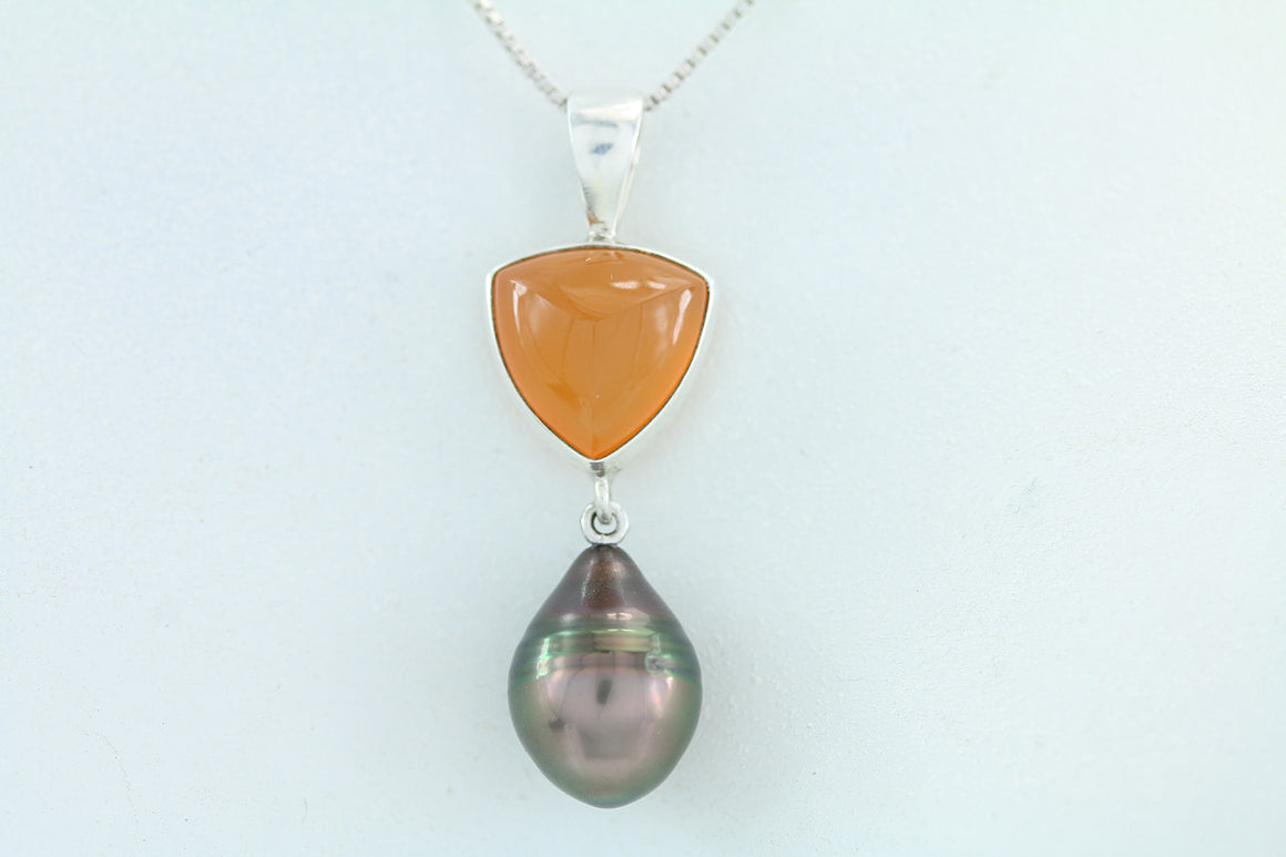 Cook Island South Sea Pearl Pendant.