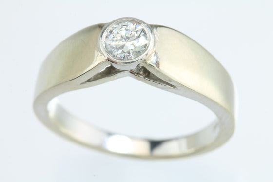 .47ct Diamond 14kt White Gold Solitaire