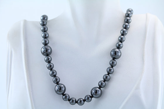 "Hemalyke Beaded Necklace 18"" Sterling Silver Clasp"