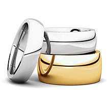 Comfort Fit Wedding Band (IR)