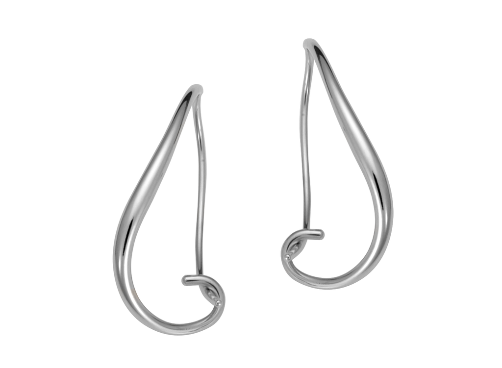 Ed Levin Sterling Silver Napa Earrings