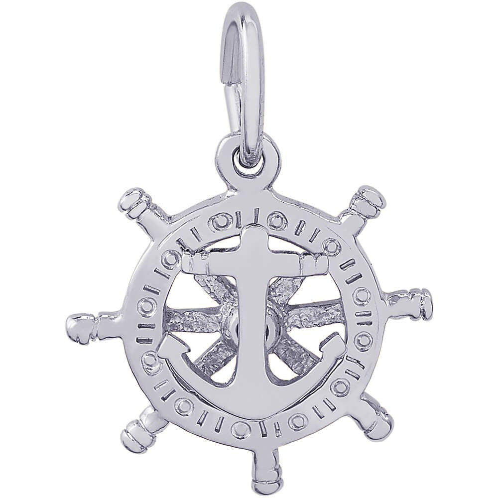 Copy of Wheel Anchor Charm #1668
