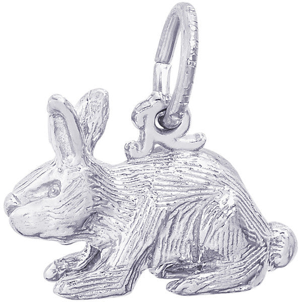 Sterling Silver Rabbit Charm #2264