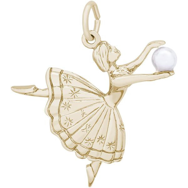 Dancer with Pearl Charm #2927