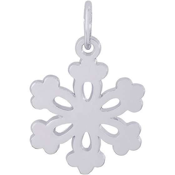 Sterling Silver Snowflake Charm #4484