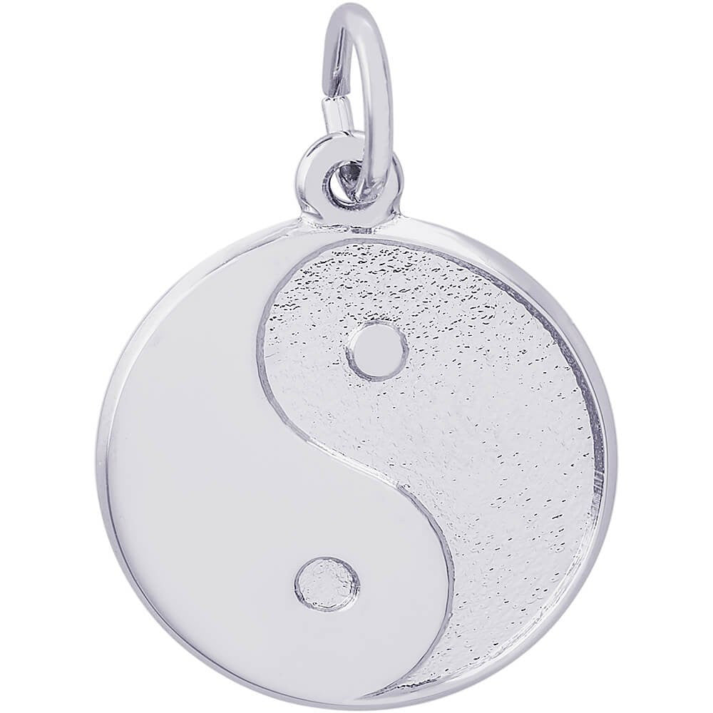 Yin and Yang Charm #6430