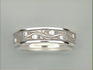 Studio 311 Starry Night White Gold Band