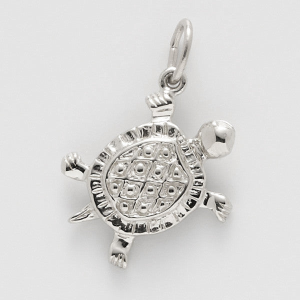 Sterling Silver Turtle Charm #0530