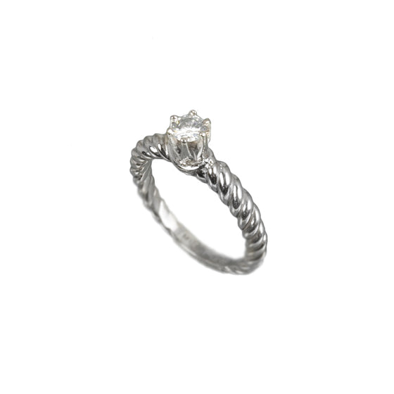 .29ct Diamond Platinum Solitaire