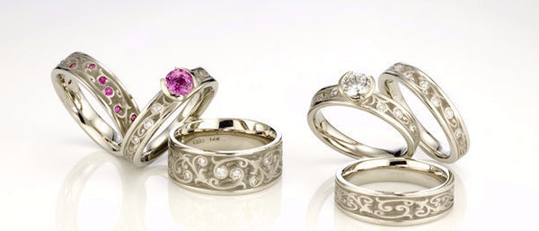 Studio 311 Garden Gate Wedding Bands