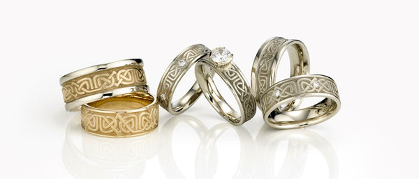 Studio 311 Labyrinth Wedding Bands