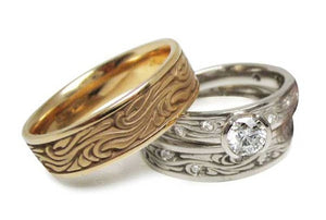 Studio 311 Starry Night Wedding Bands