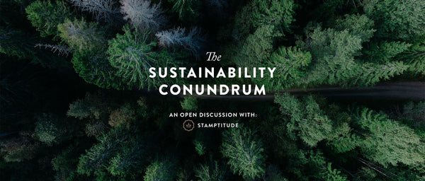 The Sustainability Conundrum