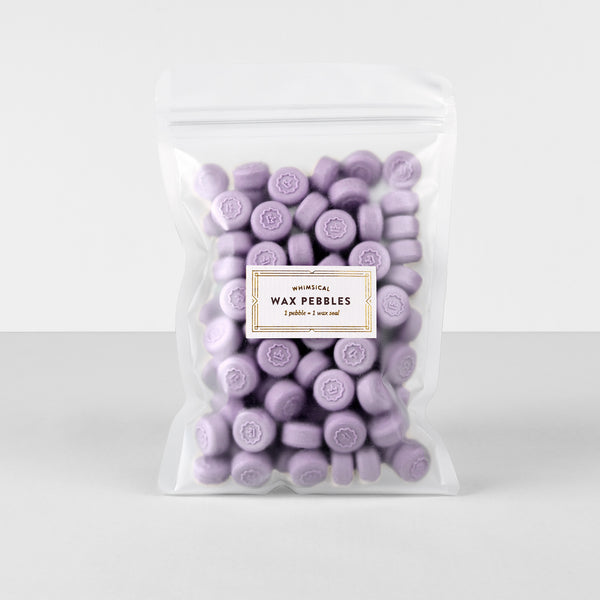 Lavender Wax Pebbles