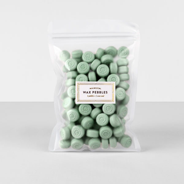 Mint Wax Pebbles