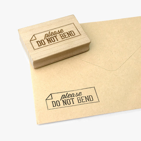 Do Not Bend Stamp
