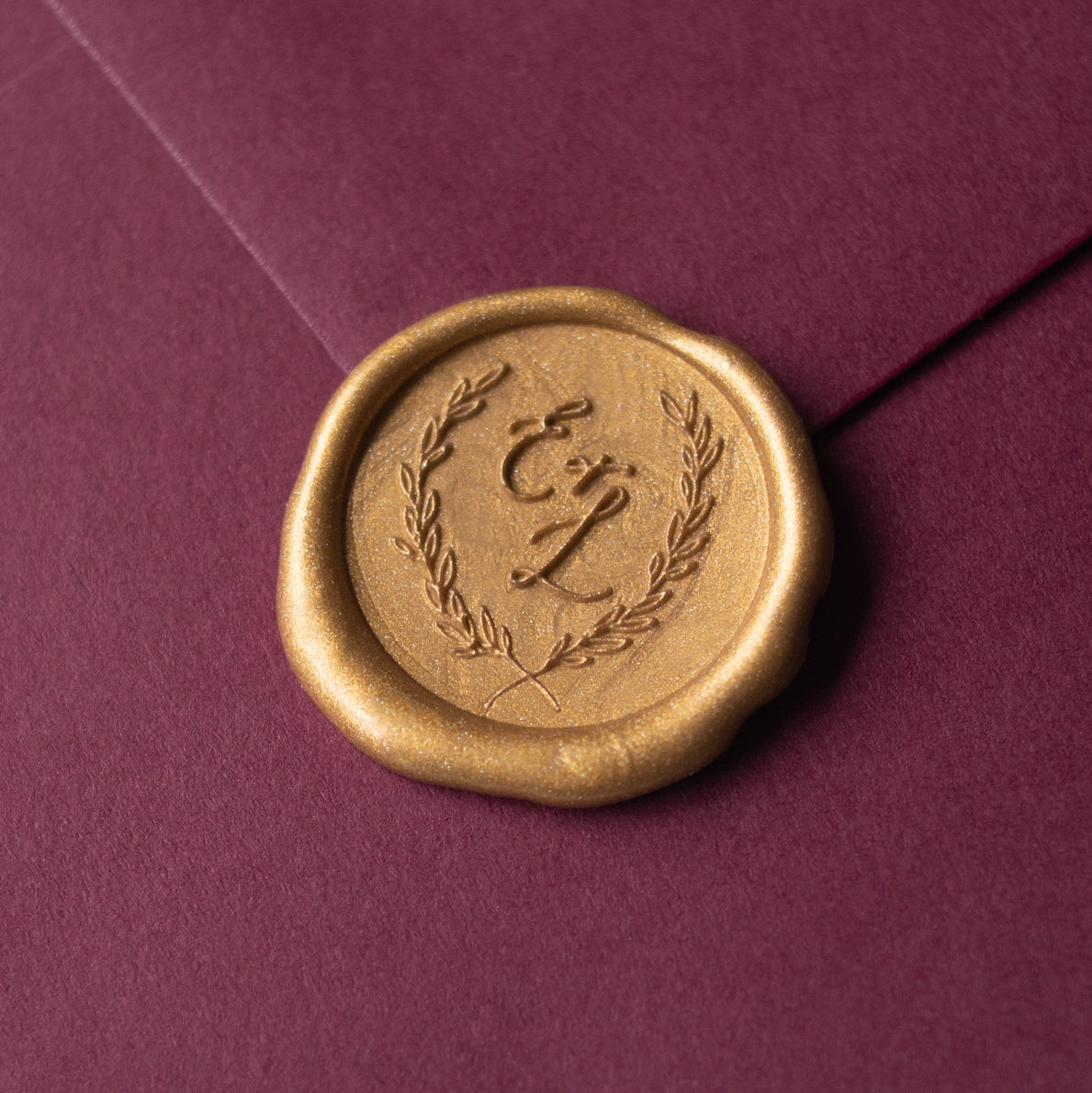 Calligraphy Monogram Wax Seal