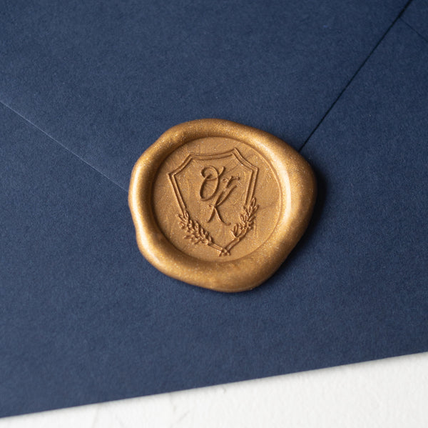 Shield Monogram Wax Seal