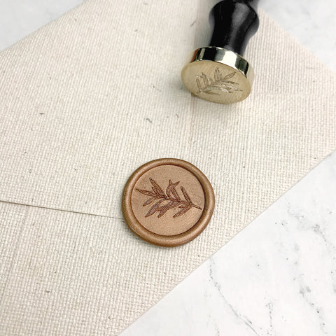 Evergreen Wax Seal