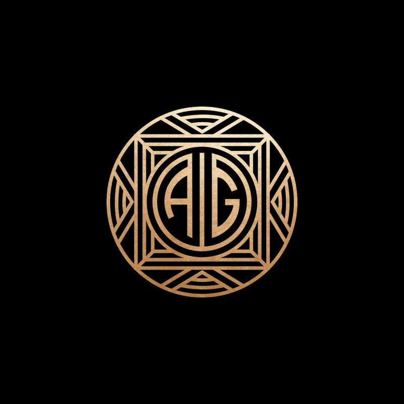 gatsby monogram wax seal