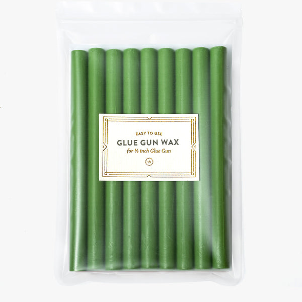 Green Glue Gun Wax