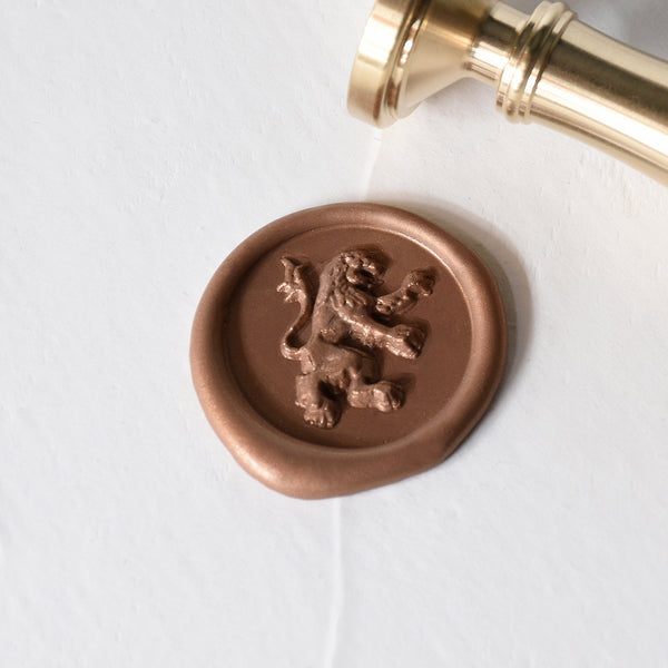 León Brass Wax Stamp