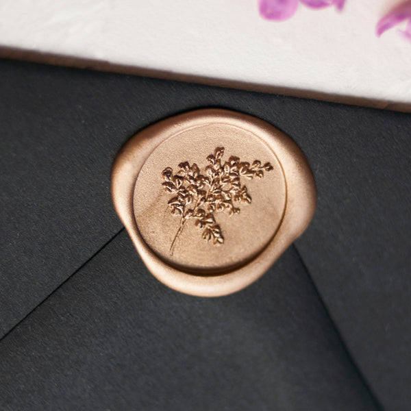 Maidenhair Wax Seal Seniman Calligraphy