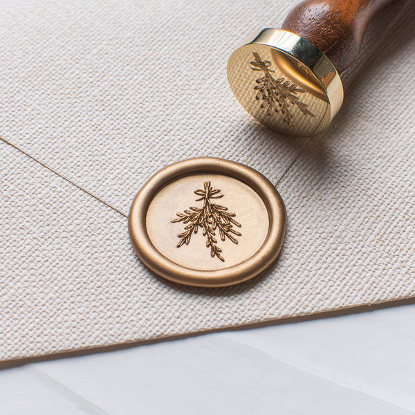 Mistletoe Wax Seal Stamp