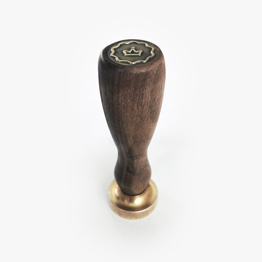 Walnut Handle Wax Stamp