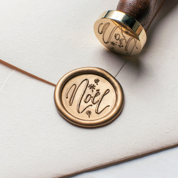 Noël Wax Seal Stamp