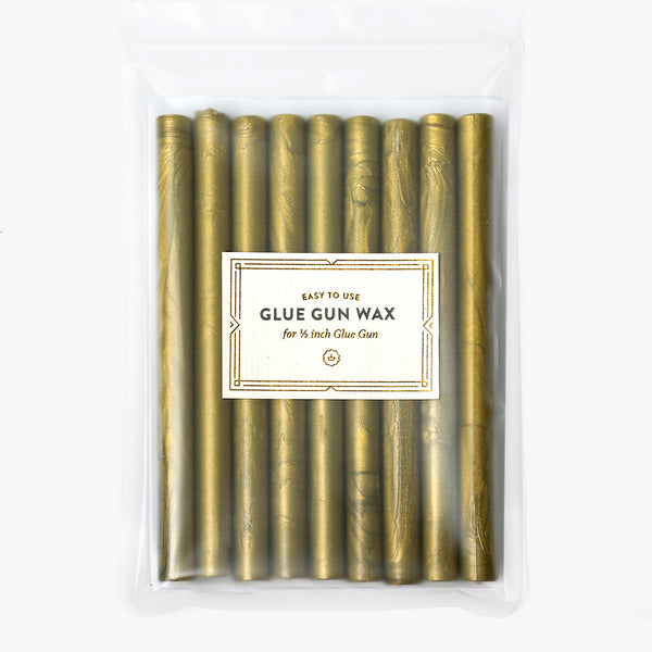 Olive Green Glue Gun Wax
