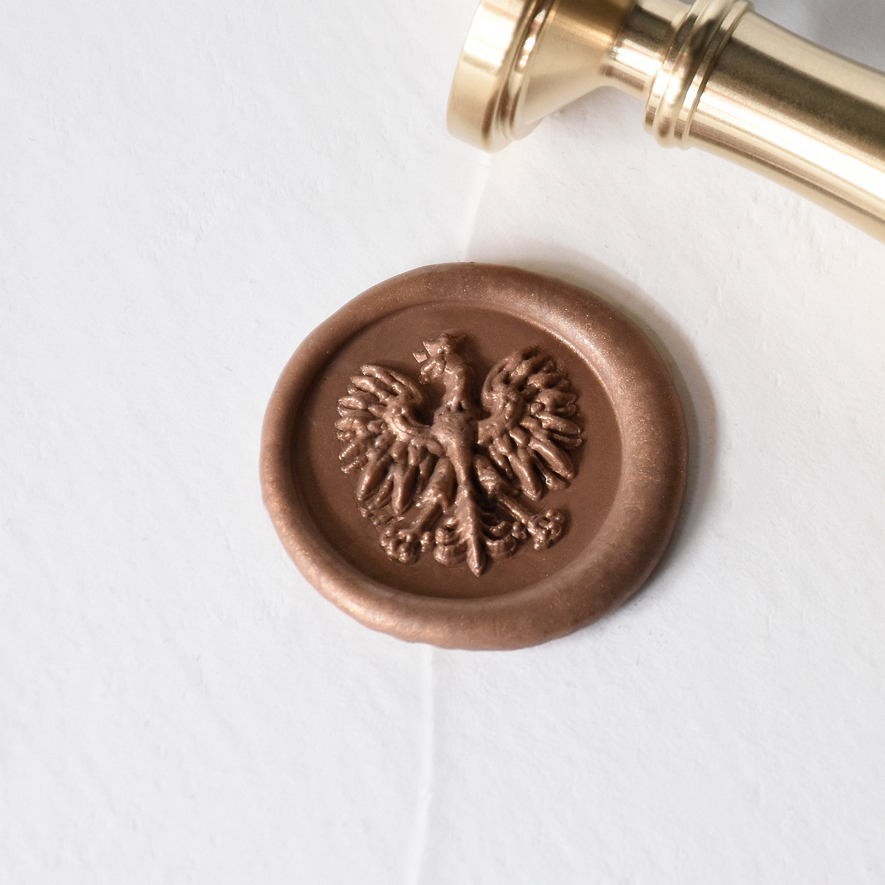 Orzeł Brass Wax Stamp