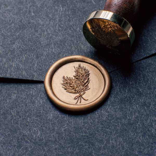 Pine Needle Holiday Wax Seal