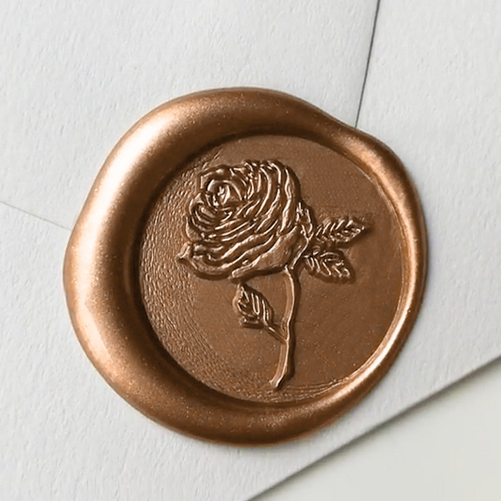 intricate detail wax seal