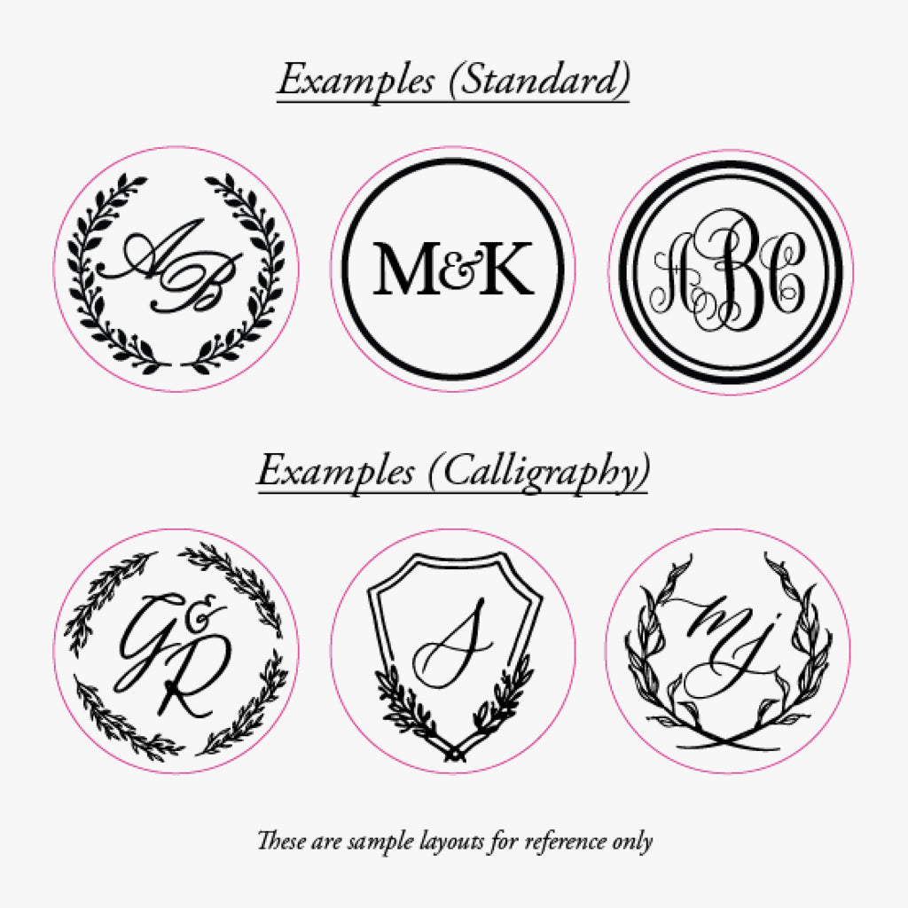 Bespoke Monogram Wax Seal Stamp