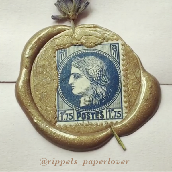 Rippels Paperlover Wax Seal