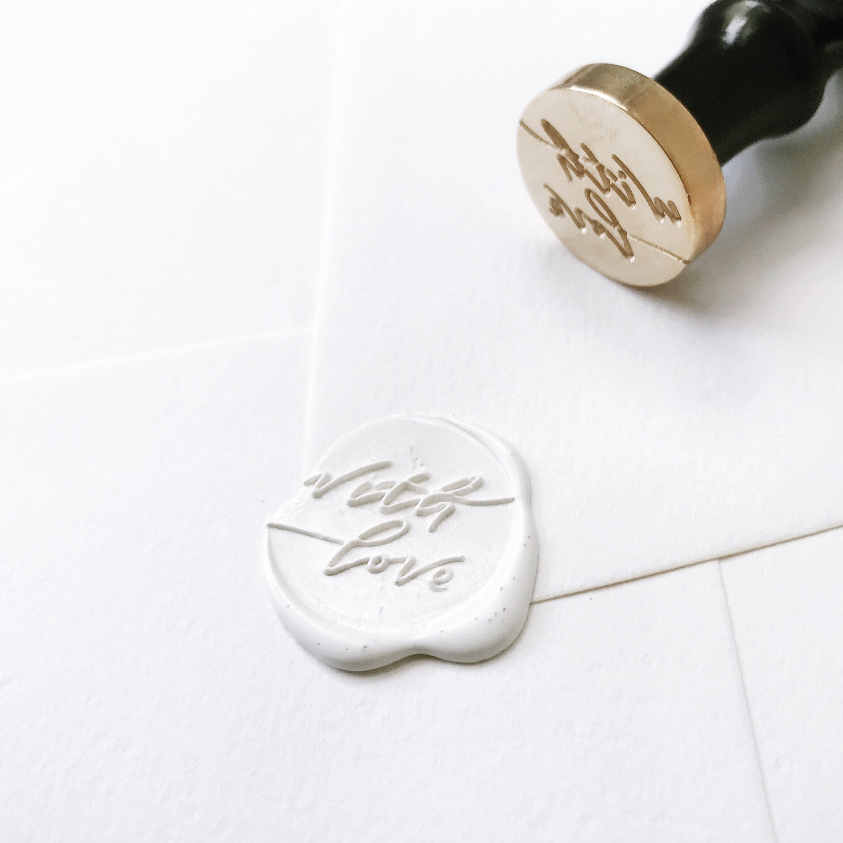 With Love Wax Seal