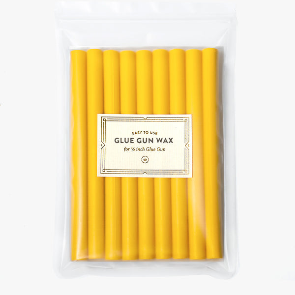 Yellow Glue Gun Wax