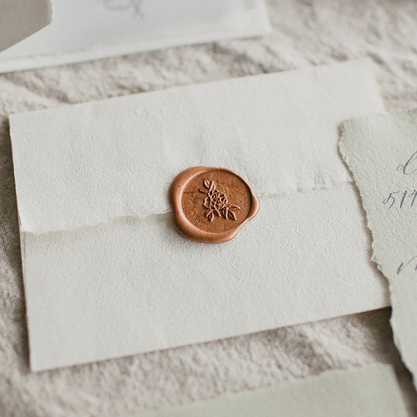 Esther Clark Blossom Wax Seal