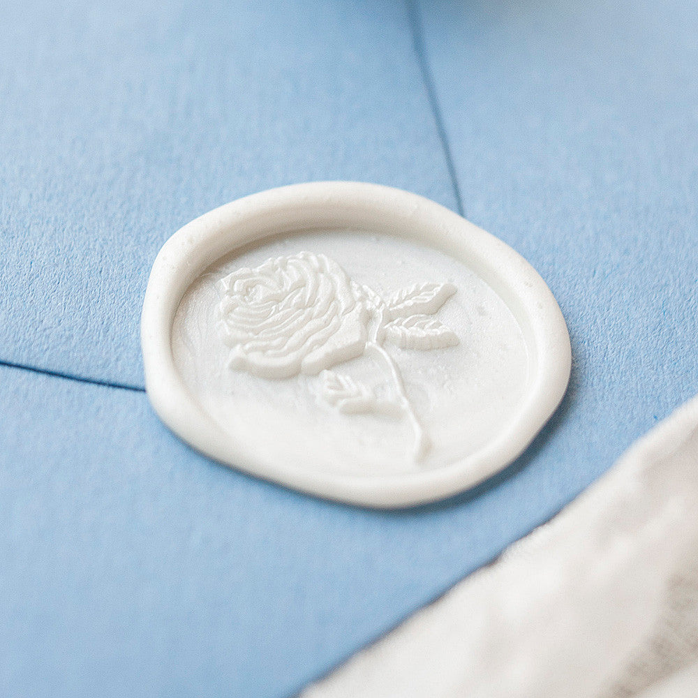 Rose Wax Stamp