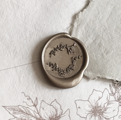 Wildflower Wax Seal