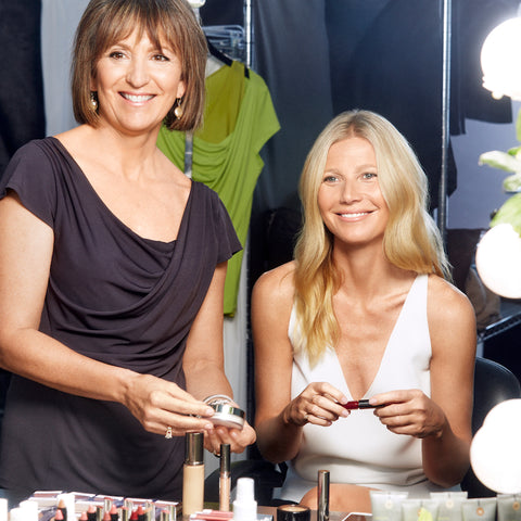 Karen Behnke and Gwyneth Paltrow Juice Beauty