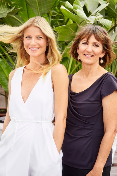 Gwyneth Paltrow and Karen Behnke, Juice Beauty, Cred