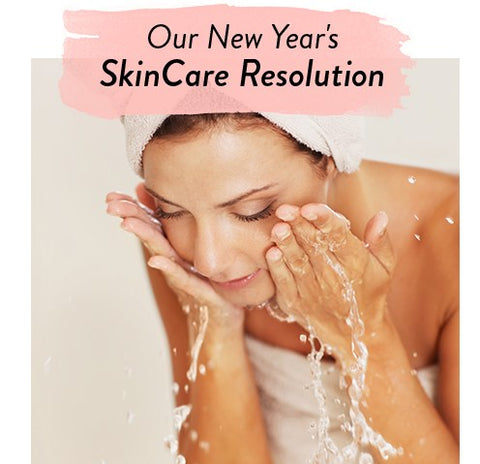 Credo Beauty New Year's Skincare Resolution