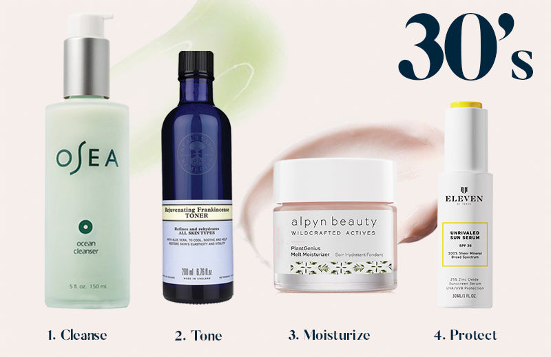 Best Skincare Routine for your 30s