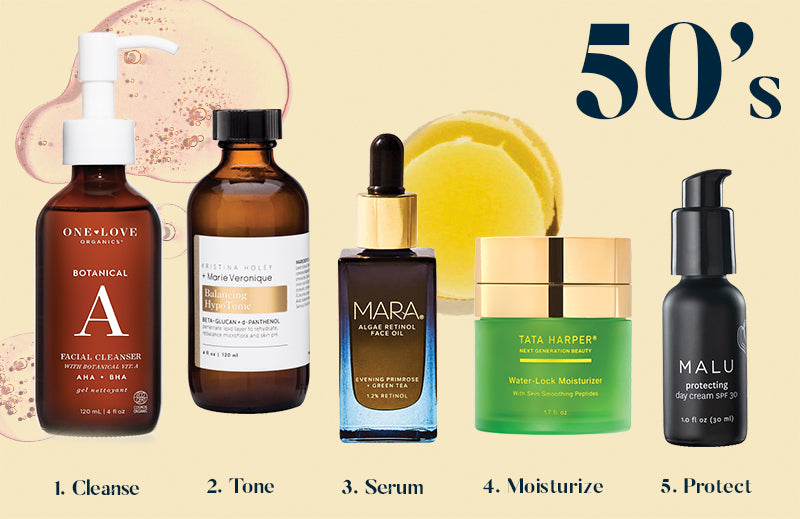 Best Skincare Routine for Your 50's