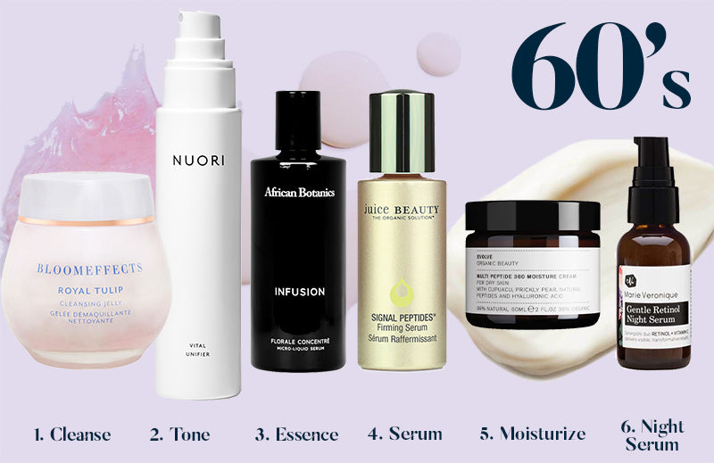 Best Skincare Routine for Your 60's