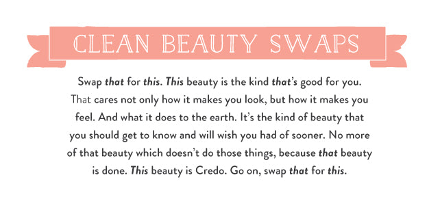 Clean Beauty Swaps