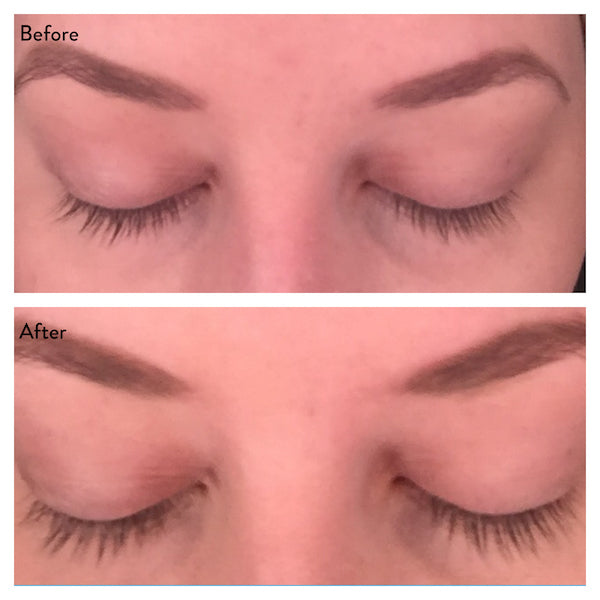 Plume Before and After Lashes