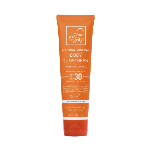 Natural Mineral Sunscreen SPF 30 For Body